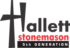 hallett stonemason logo large